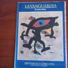 Coleccionismo Periódico La Vanguardia: LA VANGUARDIA - REV. - DE HAYER A HOY - 11 DE ABRIL DE 1982 ( FASC. Nº 10 ). Lote 38546340