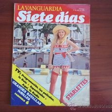 Coleccionismo Periódico La Vanguardia: LA VANGUARDIA - REV. SIETE DIAS - 13 DE JUNIO DE 1982 / STARLETTES / PROGRAMACION TVE. Lote 38559994