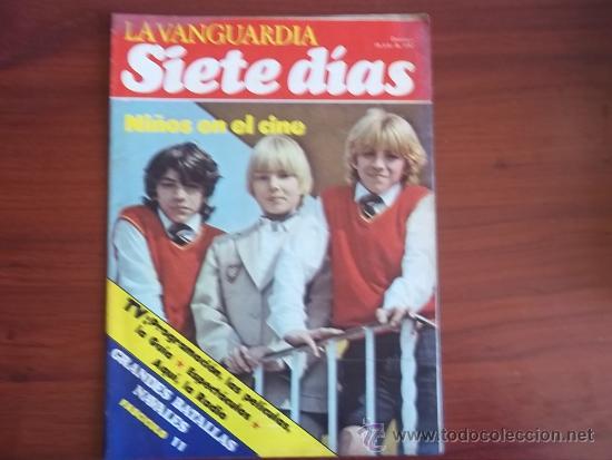 LA VANGUARDIA - REV. SIETE DIAS - 18 DE JULIO DE 1982 / GRANDES BATALLAS NAVALES ( FASC. 11 ) (Coleccionismo - Revistas y Periódicos Modernos (a partir de 1.940) - Periódico La Vanguardia)