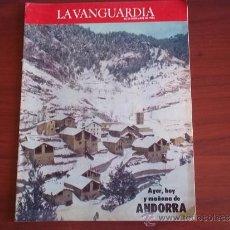 Coleccionismo Periódico La Vanguardia: LA VANGUARDIA - ESPECIAL - 28 DE DICIEMBRE DE 1983 / ANDORRA AYER,HOY Y MAÑANA. Lote 38574488
