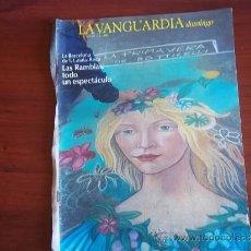 Coleccionismo Periódico La Vanguardia: LA VANGUARDIA - REV DOMINGO - 1 DE MAYO DE 1983 / LA BARCELONA DE F. CATALA-ROCA. Lote 38574862