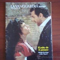 Coleccionismo Periódico La Vanguardia: LA VANGUARDIA - REV DOMINGO - 9 DE OCTUBRE DE 1983 / PLACIDO DOMINGO Y JULIA MIGENE. Lote 38578331