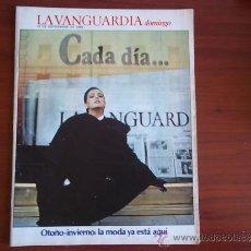 Coleccionismo Periódico La Vanguardia: LA VANGUARDIA - REV DOMINGO - 18 DE SEPTIEMBRE DE 1983 - OTOÑO-INVIERNO: LA MODA YA ESTA AQUI. Lote 38578549