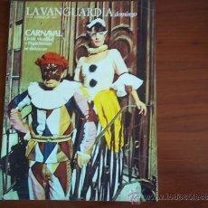 Coleccionismo Periódico La Vanguardia: LA VANGUARDIA - REV DOMINGO - 13 DE DICIEMBRE DE 1983 / OVIDI MONTLLOR Y PEPA ARENOS. Lote 38578816