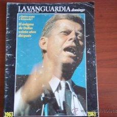 Coleccionismo Periódico La Vanguardia: LA VANGUARDIA - REV DOMINGO - 20 DE NOVIEMBRE DE 1983 ¿ QUIEN MATO A KENNEDY ? 1963 - 1983. Lote 38578918