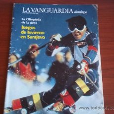 Coleccionismo Periódico La Vanguardia: LA VANGUARDIA - REV DOMINGO - 5 DE FEBRERO DE 1984 - SARAJEVO, ANTES DE LA GUERRA DE BOSNIA. Lote 38595804