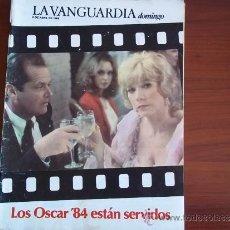 Coleccionismo Periódico La Vanguardia: LA VANGUARDIA - REV DOMINGO - 8 DE ABRIL DE 1984 / INTERIOR,ANNA LIZARAN. Lote 38598806