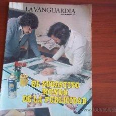 Coleccionismo Periódico La Vanguardia: LA VANGUARDIA - REV ESPECIAL - 28 DE MARZO DE 1984 - EL SUGESTIVO MUNDO DE LA PUBLICIDAD. Lote 38599289