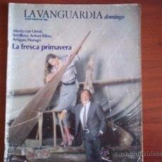 Coleccionismo Periódico La Vanguardia: LA VANGUARDIA - REV DOMINGO - 29 DE ENERO DE 1984 / MODA CON URRUTI,SENILLOSA,ANTONI RIBAS,ARTIGAU. Lote 38599392
