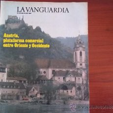 Coleccionismo Periódico La Vanguardia: LA VANGUARDIA - REV ESPECIAL - 23 DE MAYO DE 1984 / AUSTRIA, PLATAFORMA ENTRE ORIENTE Y OCCIDENTE. Lote 38599511