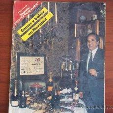 Coleccionismo Periódico La Vanguardia: LA VANGUARDIA - REV.ESPECIAL - 19 DE DICIEMBRE DE 1984 / COMER Y BEBER EN NAVIDAD. Lote 38600588