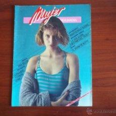 Coleccionismo Periódico La Vanguardia: LA VANGUARDIA - REV.- MUJER Nº 8 - 1 DE JUNIO DE 1984 / ENTRV. MONTSERRAT GUDIOL / ANA BELEN. Lote 39506571