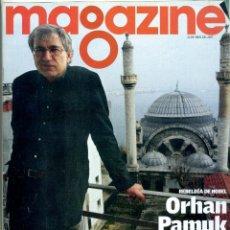 Coleccionismo Periódico La Vanguardia: REVISTA MAGAZINE LA VANGUARDIA / 2007 - ORHAN PANUK. Lote 39625246