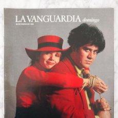 Coleccionismo Periódico La Vanguardia: LA VANGUARDIA - 1990 - VICTORIA ABRIL Y PEDRO ALMODÓVAR, ÁTAME, PARMIGGIANO-REGGIANO. Lote 40425539