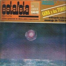 Coleccionismo Periódico La Vanguardia: LA ESTAFETA LITERARIA Nº 484 15 ENERO 1972, REVISTA QUINCENAL LIBROS ARTE Y ESPECTÁCULO, LEER. Lote 40482980
