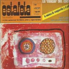 Coleccionismo Periódico La Vanguardia: LA ESTAFETA LITERARIA Nº 491 1 MAYO 1972 , REVISTA QUINCENAL LIBROS ARTE Y ESPECTÁCULO, LEER. Lote 40484250
