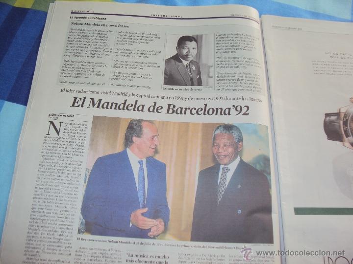 Coleccionismo Periódico La Vanguardia: Adios a Mandela. La Vanguardia. - Foto 5 - 193924376