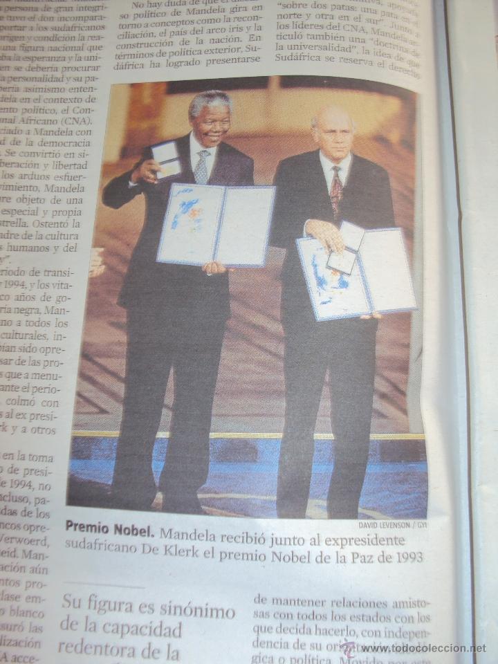 Coleccionismo Periódico La Vanguardia: Adios a Mandela. La Vanguardia. - Foto 6 - 193924376