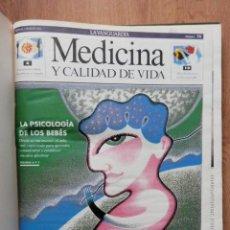 Coleccionismo Periódico La Vanguardia: MEDICINA Y CALIDAD DE VIDA. Nº 73 AL 88. 6 MAR-92 AL 26 JUN-92 - DIVERSOS AUTORES. Lote 36979647
