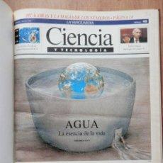 Coleccionismo Periódico La Vanguardia: CIENCIA Y TECNOLOGÍA. Nº 40 AL 52. 7 JUL-90 AL 27 OCT-90 - DIVERSOS AUTORES. Lote 36979671