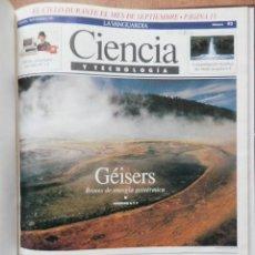 Coleccionismo Periódico La Vanguardia: CIENCIA Y TECNOLOGÍA. Nº 92 AL 105. 7 SEP-91 AL 7 DIC-91 - DIVERSOS AUTORES. Lote 36979706