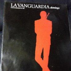 Coleccionismo Periódico La Vanguardia: SUPLEMENTO LA VANGUARDIA - LAS DOS CARAS DE JAMES BOND - AMPLIO REPORTAJE TODOS LOS PROTAGONISTAS. Lote 41102703