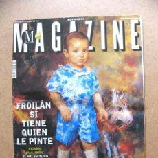 Coleccionismo Periódico La Vanguardia: REVISTA MAGAZINE Nº 87 PINTOR RICARDO MACARRON MARIA TERESA CAMPOS LA CALVICIE TIANANMEN. Lote 190363746