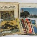 Coleccionismo Periódico La Vanguardia: D-400. COLECCION DE PUBLICACIONES DE LA VANGUARDIA ESPAÑOLA. AÑOS 60 Y 80.. Lote 43092528