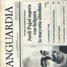 Coleccionismo Periódico La Vanguardia: DIARIO LA VANGUARDIA 30 ABRIL 1984 - JORDI PUJOL PRESIDENT. Lote 111934114