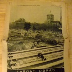 Coleccionismo Periódico La Vanguardia: LA VANGUARDIA -DOMINGO 9 ENERO 1972 OBRAS EN PLAZA UNIVERSIDAD. Lote 43663802
