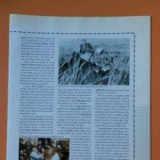 Coleccionismo Periódico La Vanguardia: TOT CATALUNYA. EL LLIBRE PER CONÈIXER EL PAÍS COMARCA A COMARCA. DE LA PG 209 A LA 224 (TERRES DE L'. Lote 44079467