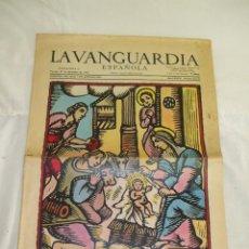 Colecionismo Jornal La Vanguardia: LA VANGUARDIA ESPAÑOLA. NAVIDAD DE 1970.. Lote 110231674