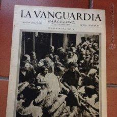 Coleccionismo Periódico La Vanguardia: LA VANGUARDIA, 1933. SUPLEMENTO 8 PÁGINAS - BARCELONA, REPARTO DE PAN, , Y MUCHO MÁS. Lote 45803690