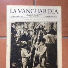 Coleccionismo Periódico La Vanguardia: LA VANGUARDIA, 1933. SUPLEMENTO 4 PÁGINAS - COPA DE ESPAÑA, BARCELONA-BETIS, Y MUCHO MÁS. Lote 45804386