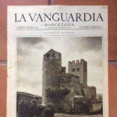 Coleccionismo Periódico La Vanguardia: LA VANGUARDIA, 1932. SUPLEMENTO 4 PÁGINAS - TARRAGONA, MADRID, PUIGCERDÀ, BARCELONA, Y MÁS.... Lote 45804648