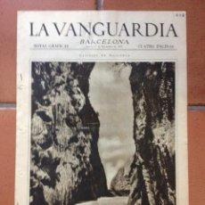 Coleccionismo Periódico La Vanguardia: LA VANGUARDIA, 1932. SUPLEMENTO 4 PÁGINAS - INUNDACIONES MURGUIA, VIZCAYA, GERONA , Y MÁS.... Lote 45804722