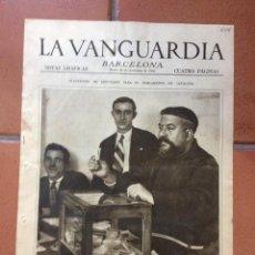 Coleccionismo Periódico La Vanguardia: LA VANGUARDIA, 1932. SUPLEMENTO 4 PÁGINAS - ELECCIONES DIPUTADOS CATALUÑA, SUCESOS Y MÁS.... Lote 45804781