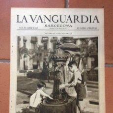 Coleccionismo Periódico La Vanguardia: LA VANGUARDIA, 1931. SUPLEMENTO 4 PÁGINAS. LERROUX, BILLAR, GRANADA, PZA MACIÁ Y MÁS.... Lote 45805316