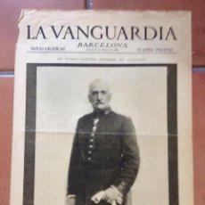 Coleccionismo Periódico La Vanguardia: LA VANGUARDIA, 1930. SUPLEMENTO 4 PÁGINAS. EL PASEO DE GRACIA, MADRID, Y MÁS.... Lote 45805785