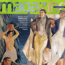 Colecionismo Jornal La Vanguardia: MAGAZINE LA VANGUARDIA - 28 JUNIO 1998 - RICKY MARTIN - FUTBOL - HISTORIA DE LOS INDIANOS. Lote 45807541