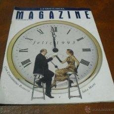 Coleccionismo Periódico La Vanguardia: REV 12/1992 MAGAZINE..RPTJE.ADIOS A UN AÑO,TINO ROMERO E INKA .GRAN ENTREVISTA,COCINA-FIN DE AÑO.. Lote 46584461
