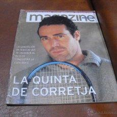 Coleccionismo Periódico La Vanguardia: REV. MAGAZINE.- ALEX CORRETJA, CAMARON,ELOY AZORIN,AINHOA ARTETA,I. ALLENDE,. Lote 47114362