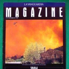 Coleccionismo Periódico La Vanguardia: REVISTA . LA VANGUARDIA . MAGAZINE . 1994, UN AÑO QUE ARDE . 25 DICIEMBRE 1994. Lote 48715879