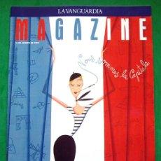 Collectionnisme Journal La Vanguardia: REVISTA . LA VANGUARDIA . MAGAZINE . PARÍS, EL CENTRO DE EUROPA . 14 AGOSTO 1994. Lote 48716181
