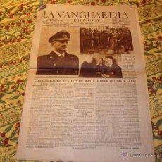 Coleccionismo Periódico La Vanguardia: LA VANGUARDIA ESPAÑOLA. NÚM. 24543 DE 3 MAYO 1945. EL NUEVO CANCILLER DE ALEMANIA. Lote 48922719