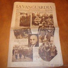 Coleccionismo Periódico La Vanguardia: LA VANGUARDIA ESPAÑOLA. NÚM. 24546 DE 6 MAYO 1945.PROTAGONISTAS PRINCIPALES DE LA GUERRA QUE TERMINA. Lote 48922786