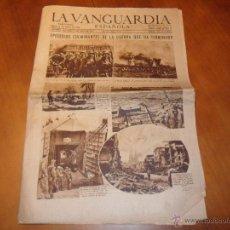 Coleccionismo Periódico La Vanguardia: LA VANGUARDIA ESPAÑOLA. NÚM. 24547 DE 8 MAY 1945.EPISODIOS CULMINANTES DE LA GUERRA QUE HA TERMINADO. Lote 48922851