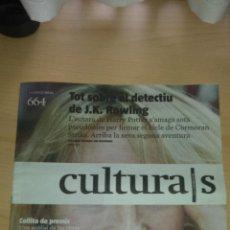 Coleccionismo Periódico La Vanguardia: CULTURALS LA VANGUARDIA - 14 DE MARZO DE 2015 - EN CATALAN - J. K. ROWLING. Lote 49164125