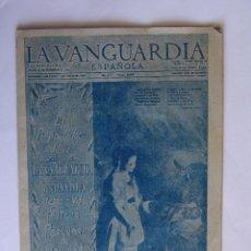 Coleccionismo Periódico La Vanguardia: LA VANGUARDIA 25 DICIEMBRE 1952 FELICES PASCUAS DE NAVIDAD Y AÑO NUEVO 1953. Lote 50956236