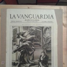 Collectionnisme Journal La Vanguardia: LOTE MÁS DE 150 PORTADAS NOTAS GRAFICAS DE LA VANGUARDIA. Lote 52917398